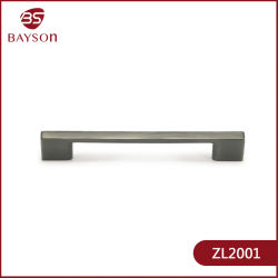 Zamac tire accessoires matériels meubles porte du cabinet les poignées en alliage de zinc