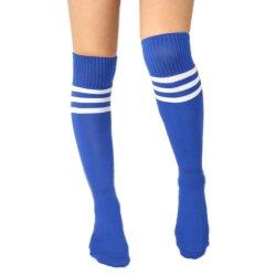Stripe tube long de chaussettes de genou d'impression Fancy Dress partie drôle dress up Accessoires Chaussettes de genou femelle bas chaussette longue