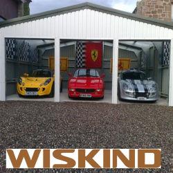 De hoge Garage van het Staal van de Structuur van het Staal van de Stijging met Beste Kwaliteit
