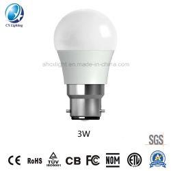G45 3W LEDの地球の球根LEDの球根E27/B22のセリウムのRoHS省エネランプLED軽いLEDランプ