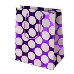 حقيبة هدايا ورق التصميم المخصص لطي الورق الفاخر من المصنع