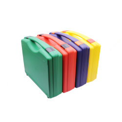 Venda a quente de equipamentos simples ferramenta de plástico preto com interior em espuma