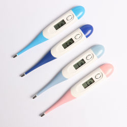 Mercury-Freier flektierter weicher Hauptdigital-elektronischer Thermometer