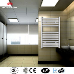 Tubo cuadrado de cromo Avonflow radiador toallero eléctrico