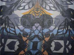 Tessuto di cotone su ordinazione di Rami di stampa di Digitahi di alta qualità della fabbrica (DSC-4132)