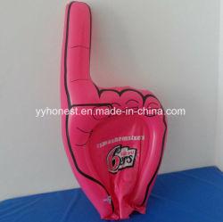 PVC promotionnels personnalisés doigt de mousse gonflable part pour l'événement