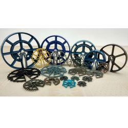 De PP/PE espaçador de plástico da Roda/Espaçador circular para o aço (SD015B-SD1001B)