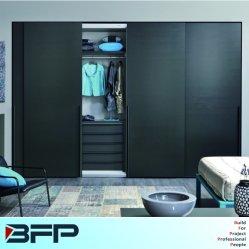 Moderne Schlafzimmer-Möbel lamellierte Schiebetür-Schlafzimmer-Garderoben
