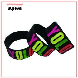 Sport Baller Band-Silikon-Gummi-Armbandwristband-Stulpe-Armband