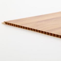 PVC 벽면 나무로 되는 PVC 천장 플라스틱 벽 실내 장식