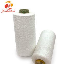 Het Ruwe Witte Maagdelijke Polyester Gesponnen Garen van 100% van Fabriek