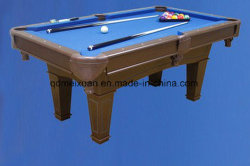 미국 당구 테이블 다리 미국 검정 8 당구대 당구 테이블 제조자 직접 판매 (M-X3691)