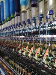 Polyester-Hütte-Schmelzgarn-Spinner Maschine, die Polyester-heißes Schmelzgarn-vollständige spinnende Zeile, die kurz Heftklammer-Baumwolle spinnt u. mischten aufbereitetes Garn