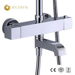 Venda superior a 5 anos de garantia constante a temperatura termostático alças duplas chuveiro torneira