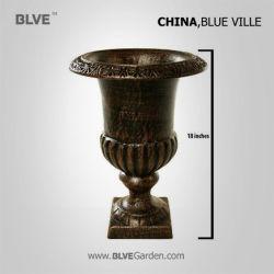 Nouveau design décoratif laiton antique de petits pots de fleurs pour la vente BFC-05