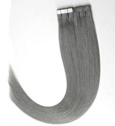 12-28 pulgadas de la cinta Remy extensiones de cabello rubio perfecta Pre-Bonded recta