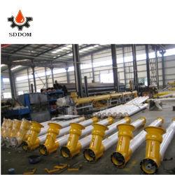 La Chine usine convoyeur à vis de trémie vibrante inclinée/vis sans fin de l'alimentation de la machine pour bétonnière usine de béton