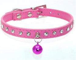 Провод фиолетового цвета кожи высокого качества Cat воротник с уплотнительными кольцами