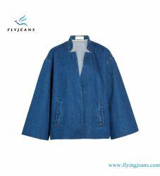 Спокойная установите женщин джинсовые куртки с потайной пружинные стопорные крепежные детали