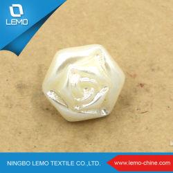 La moda de resina decorativa libre Shell botón fácil de coser