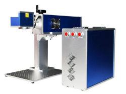 machine de marquage au laser de faire le trou de forage Laser-Beam sur du plastique