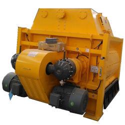 Forzato-Tipo ampiamente usato betoniera di basso costo di grande capienza di Js500 Js750 Js1000 Js1500 Js2000 Js3000 dell'asta cilindrica del gemello per la pianta d'ammucchiamento concreta