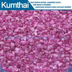 Ossido di alluminio fuso colore rosa dell'allumina di alta qualità (PA)