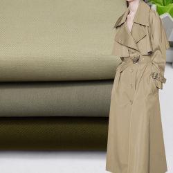 100 coton sergé Bunchy Slub filés spandex Garment Stretch