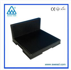 L tipo conductivo ESD la circulación de PCB PCB antiestático Rack Rack para productos de electrónica