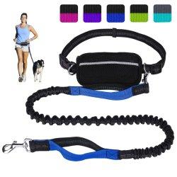 Cinturón ajustable Dual-Handle correa de perro de manos libres