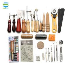37 قطعة أدوات جلد DIY أدوات الحرف اليدوية أدوات التجميع الجلد أداة ذات أسعار تنافسية
