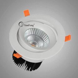 30W de alta potencia LED Empotrables de mazorca Spots