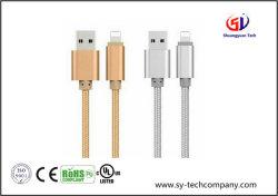 Экранирующая оплетка из нейлона 8 Контакт молнии на зарядный кабель USB кабель питания