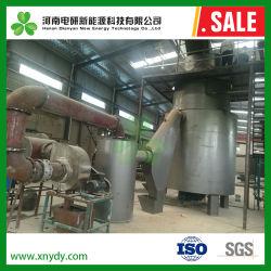 / Palha de gaseificação de casca de arroz para a biomassa para produção de carvão vegetal COMBINADO GÁS