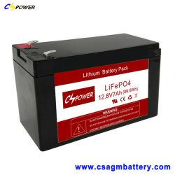 Cspower LiFePO4 12V 7ah Battery/12V 7ah Lithium-Batterie
