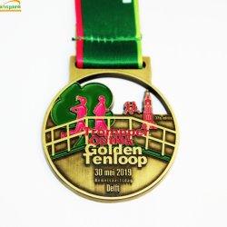 Рекламных подарков металлических судов карнавала спортивные Custom медаль