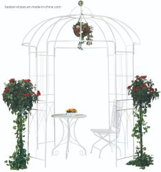 Pavillon de jardin en plein air de fer Métal14013 Arch (XY)