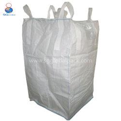 مخزن الصين المصنع عالي الجودة 1600 كجم 1000 كجم من مادة البولي بروبيلين المحبوك حقيبة كبيرة كبيرة سعة PP FIBC كبيرة الحجم