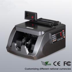 2019 Novo R690 preta de índio mistas USD Euro Sorter papel moeda em numerário Banknoter Detector Dinheiro Bill Counter Máquina de contar com a lâmpada UV Mg IR
