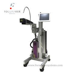 De Laser die van de Machine van de Gravure van de Laser van Focuslaser Stof merken