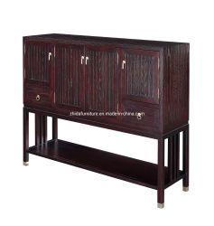 Mobilier de maison en bois massif armoire salle de séjour avec tiroir