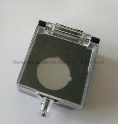 22мм кнопочный выключатель аварийной остановки замок прозрачная защитная крышка