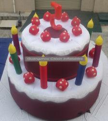 La publicidad de torta de inflables inflables Party Fiesta caliente pastel de cumpleaños