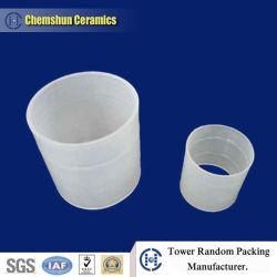 Anello di plastica di Raschig dell'imballaggio casuale per assorbimento di gas