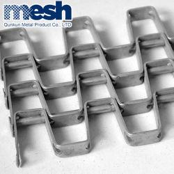 Hersteller Reinigungsmaschine Netzband Große Kugelkette Metallförderband