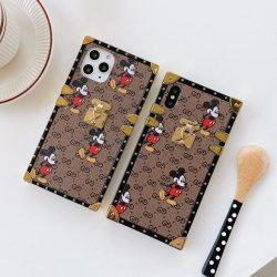 Für iPhone12 Promax Leder Handytasche Handy Luxus Designerkkoffer