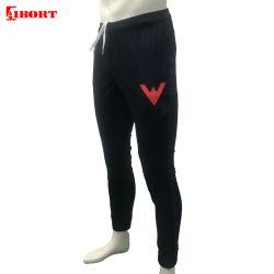 Os homens Aibort tricotado do ginásio de suor via calça com zíper bolsos