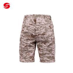 군용 Army Daily Tactical Use 카무플라주 쇼트 팬츠(포켓 포함)