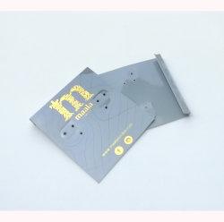 حارّ رقيقة معدنيّة نوع ذهب علامة تجاريّة رماديّ [بفك] حلم ورقة مجوهرات عرض بطاقات