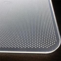 Чистый акриловый светодиодный индикатор направляющую пластину LGP PMMA лазерный пунктирная или шелк трафаретной печати